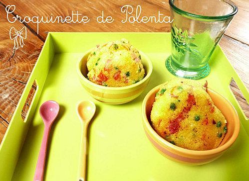 Croquinette de polenta