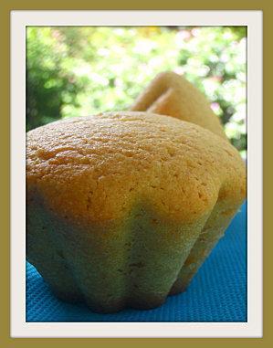 Muffins light à la vanille et à la farine de mais