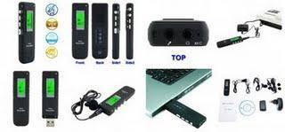 Dictaphone magnétophone numérique MP3
