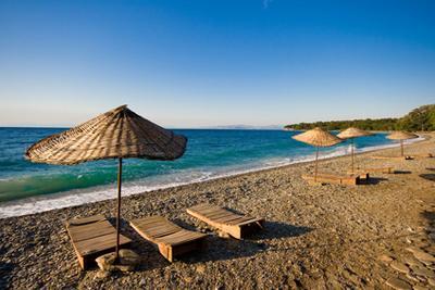 Vacances estivales sur les plages d'Antalya en Turquie
