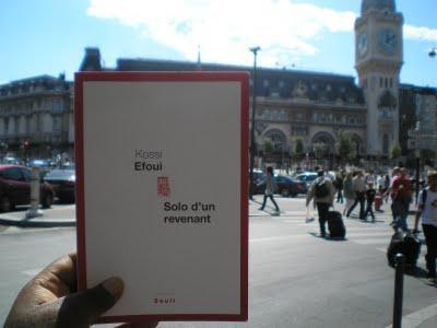 Kossi Efoui : Solo d'un revenant