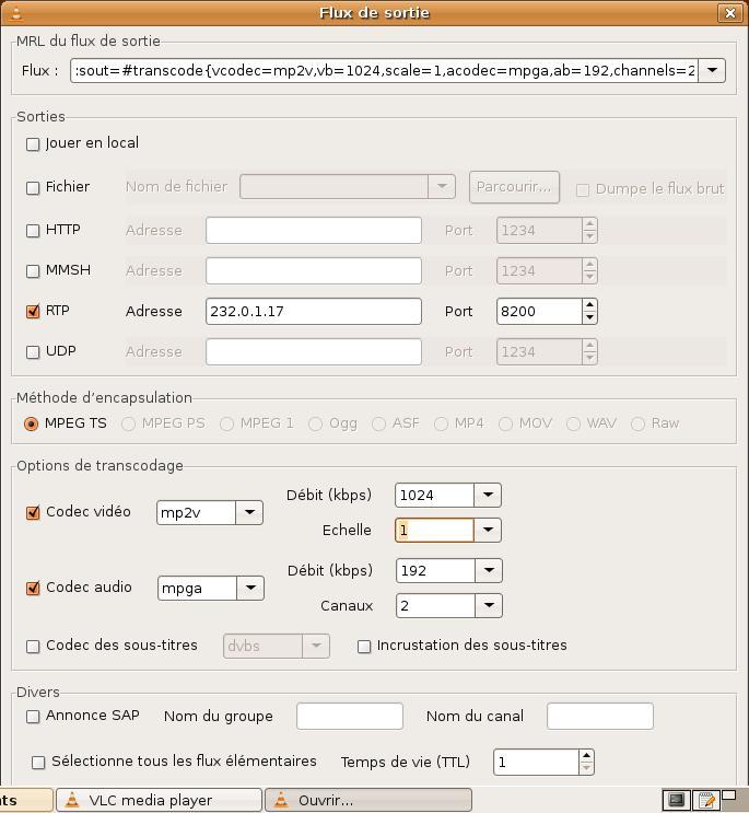 Livebox/Sagem IAD80-16: Lire un film sur sa TV depuis son PC