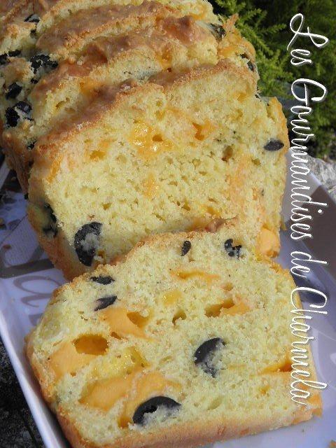 Recette Cake Mimolette Jambon