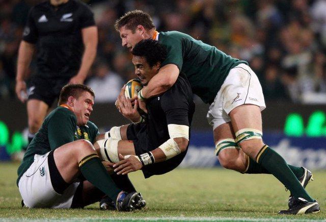 Les Springboks imposent leur jeu aux All Blacks