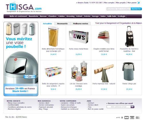 ThisGa: une nouveau site de e-commerce bien parti dans sa lancée