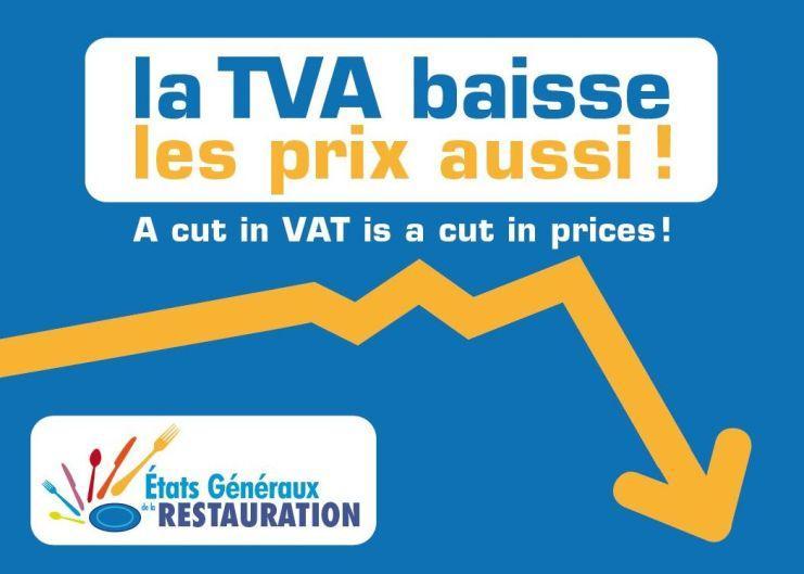 La TVA baisse, les prix aussi