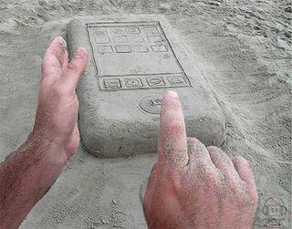 Sand-iphone