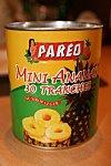 Mini tatins d'ananas au rhum ambré