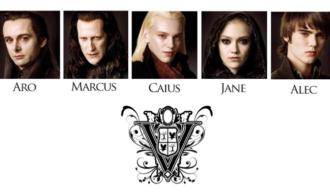 Twilight 2 dévoile son clan des Volturi