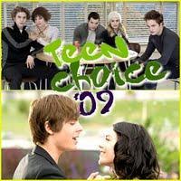 Robert Pattinson, Kristen Stewart, Taylor Lautner, Ashley Greene, Nikki Reed and Kellan Lutz seront aux Teen Choice Awards 09