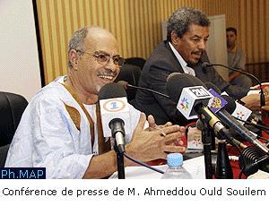 Sahara : Point de presse de Ould Souilem
