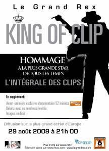 King of Clip : hommage à Michael Jackson au Grand Rex