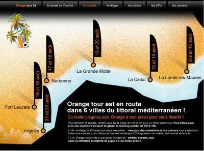Orange Tour 2009