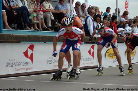 Championnats d'Europe : courses à points minimes