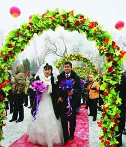 le mariage chinois