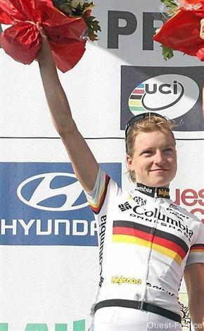 Route de France féminine. Luise Keller ,N°1 mondial défendra son titre
