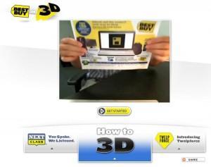 Best Buy in 3D - Réalité augmentée