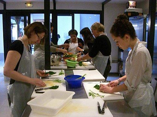 Cours de cuisine libanaise à l'Office, édition 3