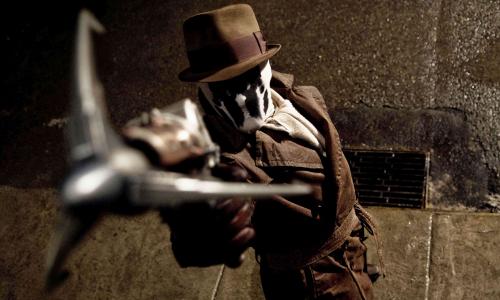 Jackie Earle Haley est Walter Kovacs, alias Rorschach, dans Watchmen