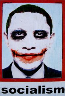 Obama et les comics : la version Joker envahit Los Angeles