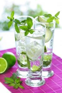 Cocktail d'été - Variation autour du mojito