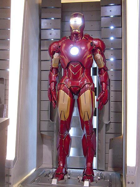 Photo de la nouvelle armure d'ironman 2 la Mark IV cinecomics
