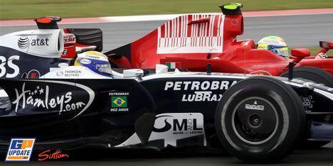 Ferrari « taille » Williams