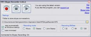 MP3SkypeRecorderScreenshot