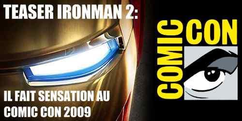 premier teaser pour Ironman 2 !