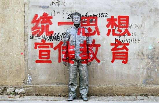 Liu Bolin Artista invisible-4