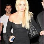 Britney Spears en sueur au mauvais endroit