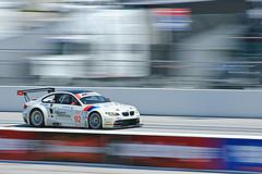 ALMS Acura Sports Car Challenge of St. Petersburg 2009 - Rahal-Letterman BMW E92 M3