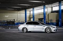 BMW M5 on 360 Forged Split 7