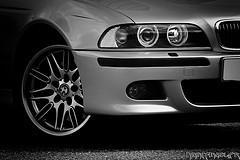 BMW M5 E39 Noir & Blanc