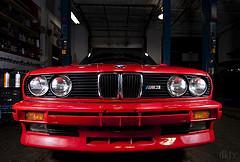 front bmw E30 M3
