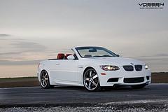 BMW M3 on Vossen VVS084 Wheels