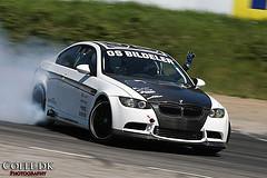 Drifting BMW M3 E92