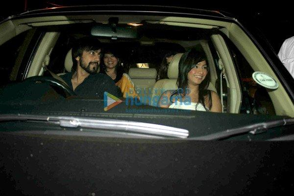 Salman, Arbaaz & Sohail à l'anniversaire de Arpita Khan