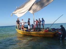De retour du Mozambique