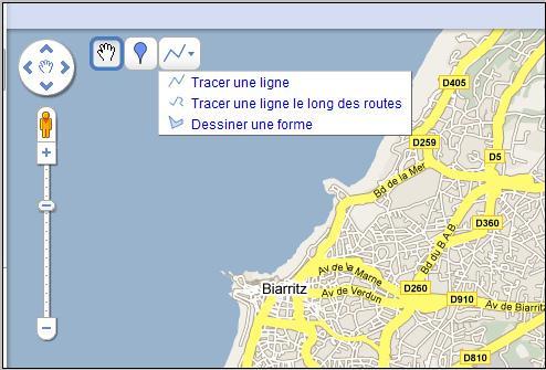 Créer des itinéraires touristiques avec Google Maps [2]