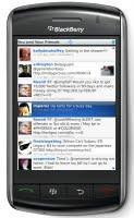 Client Twitter pour Blackberry