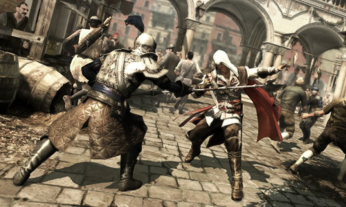 assassin's creed II fight