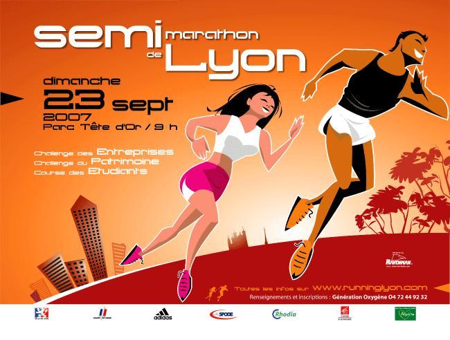 Semi marathon Lyon 2007