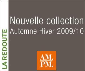 Nouvelle collection ampm automne hiver 2009 10 avec les - Reduction la redoute ampm ...