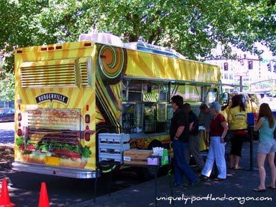 Burgerville et le camion Nomad...