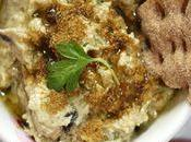 Caviar d'aubergine tartinade betteraves épicée