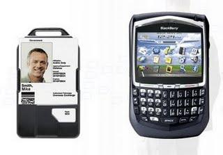 bluetooth Smart Card reader by BlackBerry