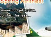 compagnie low-cost Spring Airlines collabore avec Alipay