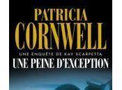 peine d'exception Patricia Cornwell