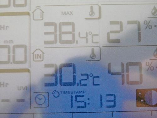 Journal du 31 juillet 2009 : Nouveau record de chaleur !...
